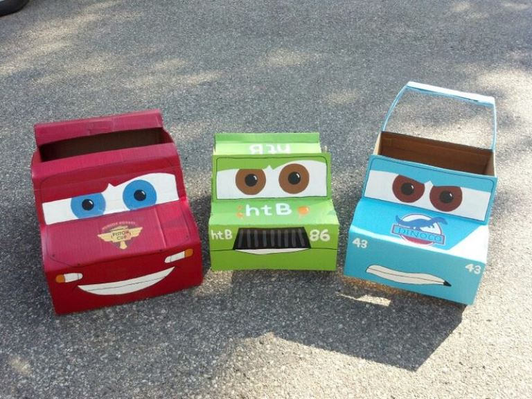 Crafty Cardboard Ideas For The Kids From Elephant Self