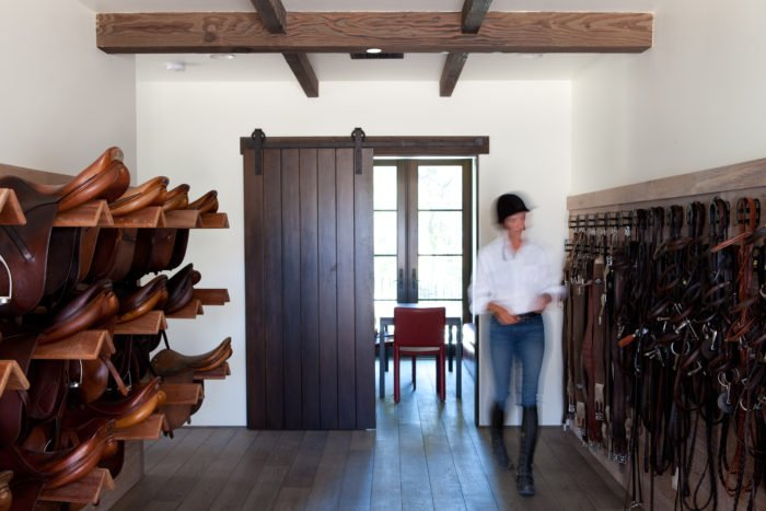 equestrian equipment storage