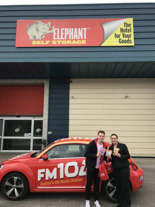 FM104 Visit Elephant Self Storage Baring Gifts!