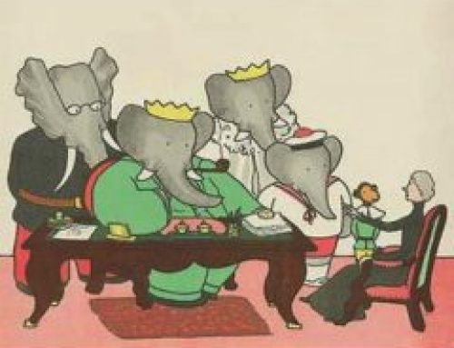 Elephant Self Storage, Elephant of the Month : Babar