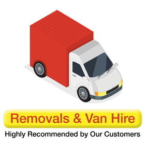 Self Storage Dublin Removals & Van Hire Widget