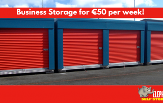Business Stortage for €50 per week