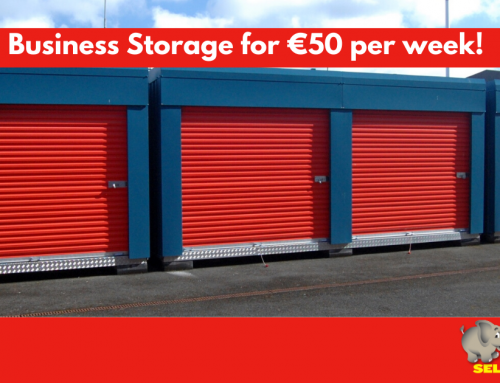 Trade & Business Storage For €50/Week