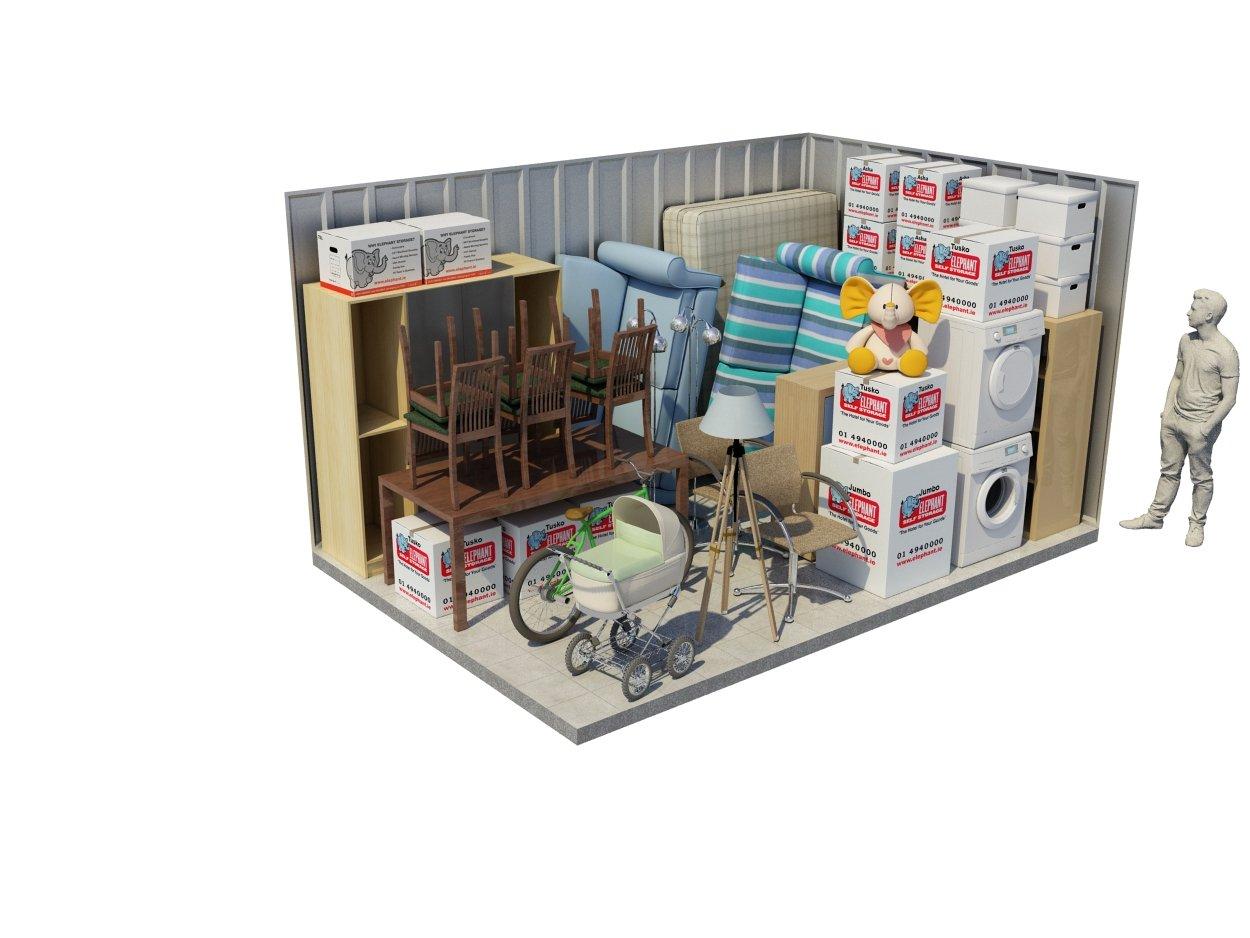 Three Bedroom Storeroom