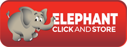 elephant click and store self storage web logo